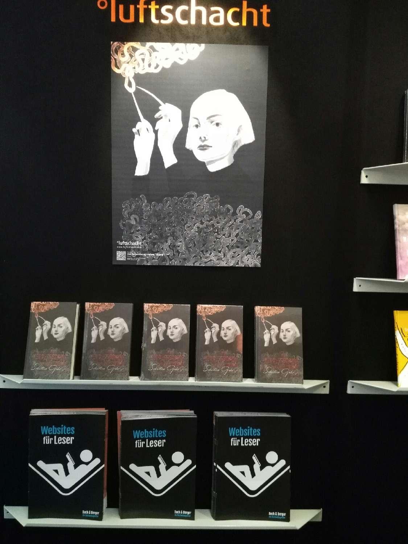 Buch & Berger auf der Frankfurter Buchmesse 2017