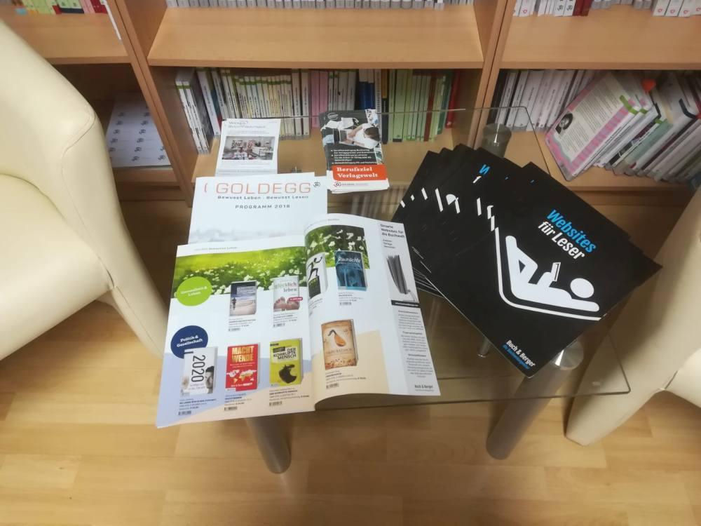 Buch & Berger: Hefte im Goldegg Verlag