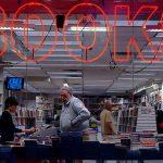 Bücherkauf nachts / Frankfurter Buchmesse / Buch & Berger
