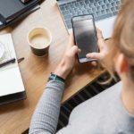 Responsive Website auf Smartphone