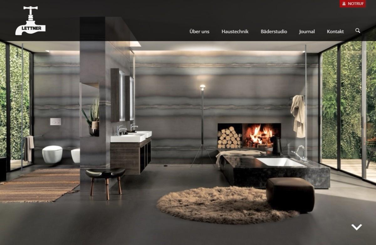 Screenshot Firma Lettner-Energietechnik