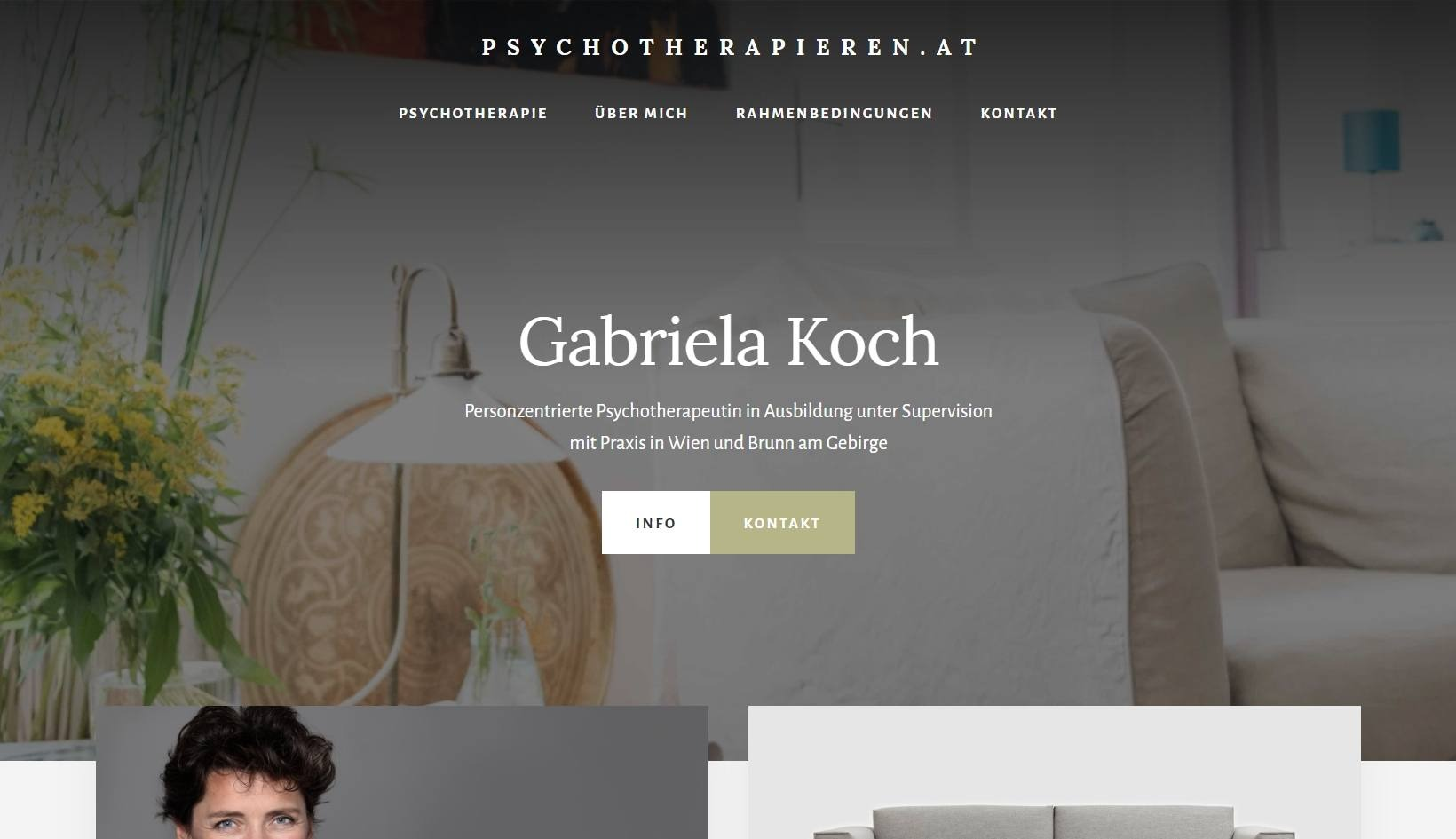 Screenshot: psychotherapieren.at
